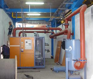 Вакуумная система Pneumofore на заводе Sevam